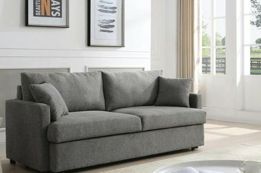 Rebecca Gray Fabric Sleeper Sofa VENDORMYCO for Sale in Houston,  TX