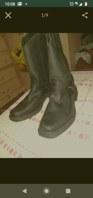 AMERICANS WELT WORK BOOTS NEW NEVER USE size 10 no steel for Sale in Fontana, CA