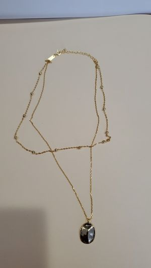 Women necklace 100% authentic silver gold for Sale in Obetz, OH