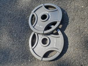 25lb Olympic Weights - New for Sale in Newton, MA
