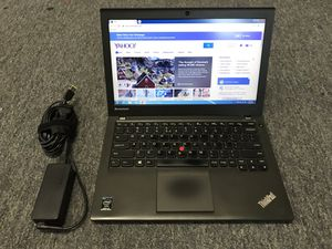 """Lenovo x240 12.5"""" laptop, core i5-4300, 4gb ram, 300gb Hdd for Sale in Chicago, IL"""
