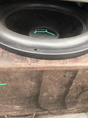 Fi Car Audio 18 w/ Hifonics Brutus Class D 2k watt amp for Sale in Baker, LA