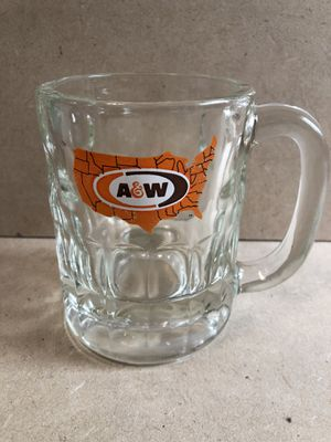 "Vintage 4"" A &W glass Mug - collectible for Sale in Fresno, CA"