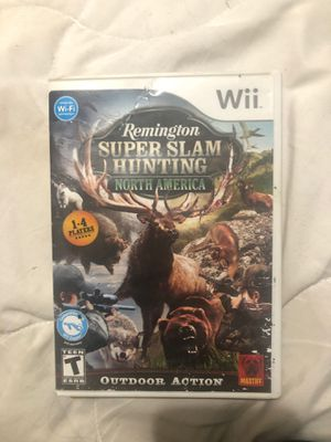 Super slam hunting Wii game for Sale in Portland, OR
