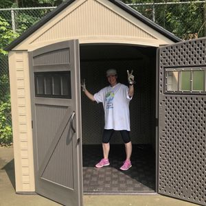 Shed Storage 7x7 Free Delivery Rubbermaid Life Time for Sale in San Dimas, CA