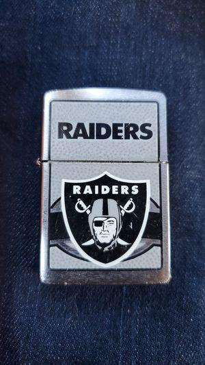 Raiders zippo lighter for Sale in Las Vegas, NV