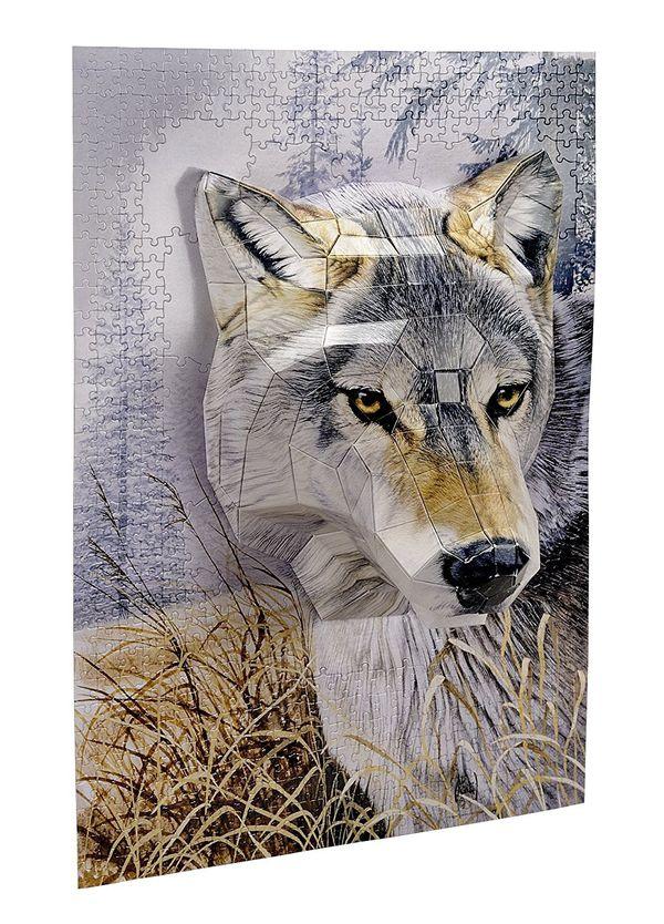 Breakthrough 3D Puzzle Wolf