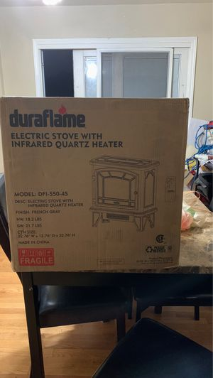 Duraflame Electric stove with infrared quartz heater for Sale in Westchester, IL