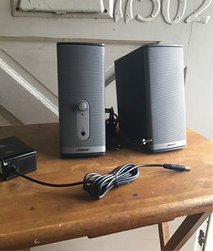 Bose companion 2 multimedia speaker system for Sale in Hawthorne, CA