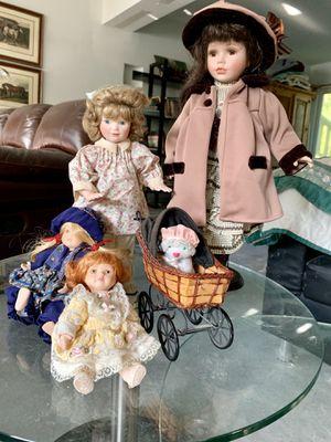 Antique porcelain dolls for Sale in Weston, FL