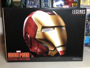 Marvel Iron Man Helmet Collectible Avengers Replica Funko Hasbro Toys cosplay for Sale in Long Beach, CA