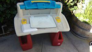 Kids Art Desk ($5) step 2 for Sale in Whittier, CA