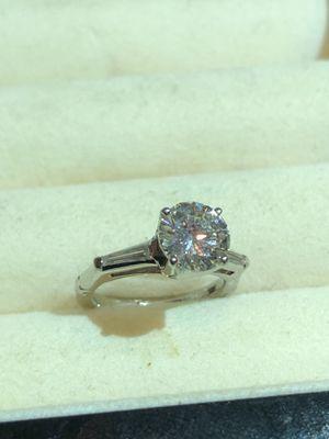 1.5 carat Diamond Wedding/ Engagement Ring for Sale in Waterbury, CT