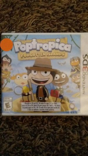 POPTROPICA Forgotten Islands (Nintendo 3DS) NEW! for Sale in Lewisville, TX
