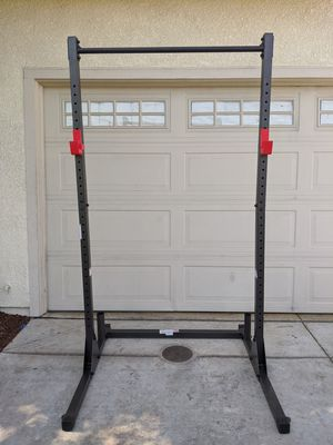 CAP STRENGTH POWER SQUAT RACK WITH PULLUP BAR+ NEW IN UNOPENED BOX ADJUSTABLE BENCH $450 FIRM for Sale in Stockton, CA