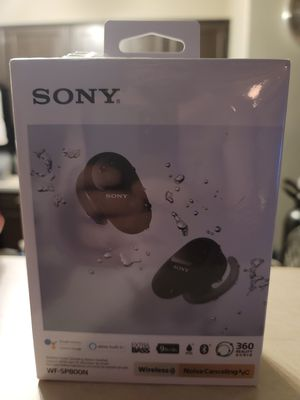 Sony WF-SP800N wireless earbuds for Sale in Tempe, AZ