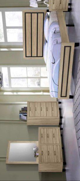 Thalassa Brown Queen Bedroom Set for Sale in Brooklyn Park, MD