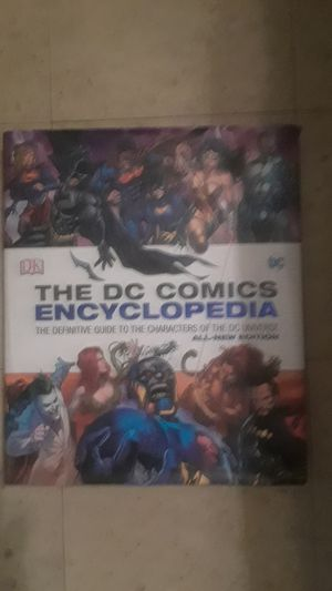 The DC Comics Encyclopedia for Sale in Tampa, FL