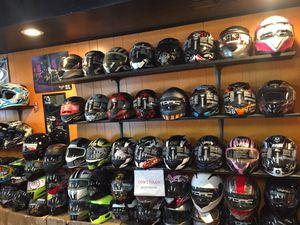 Dot motorcycle helmet sale $50 and up for Sale in Norwalk, CA