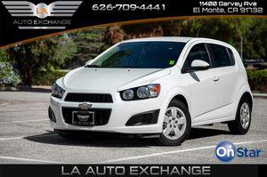 2016 Chevrolet Sonic for Sale in El Monte , CA