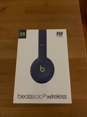 Beats solo 3 wireless for Sale in Queens, NY