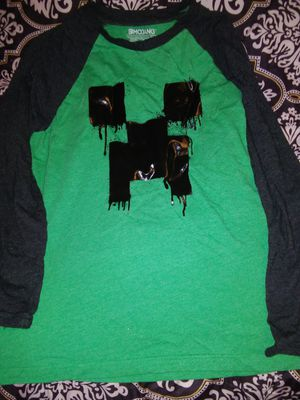Mojang size large Minecraft boys shirt for Sale in San Angelo, TX