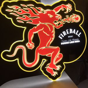 Fireball whiskey Sign for Sale in Pickerington, OH
