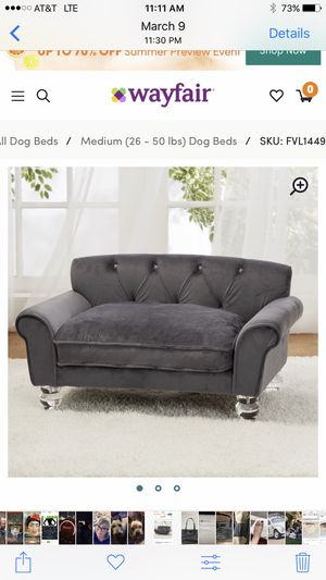 Plush dog bed brand new for Sale in Bakersfield, CA