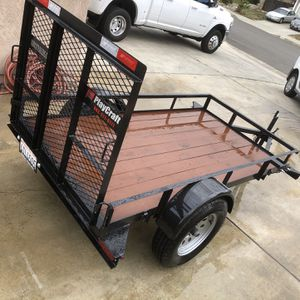 Newer 4x8 Utility Trailer for Sale in Yucaipa, CA