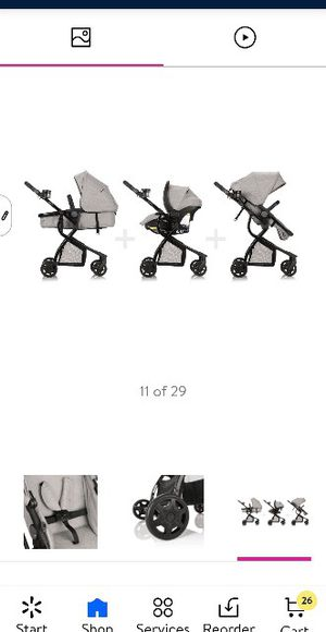 Evenflo Urbini Omni plus Modular Travel System with Litemax Rear- facing infant Car seat & base for Sale in Pittsburg, CA