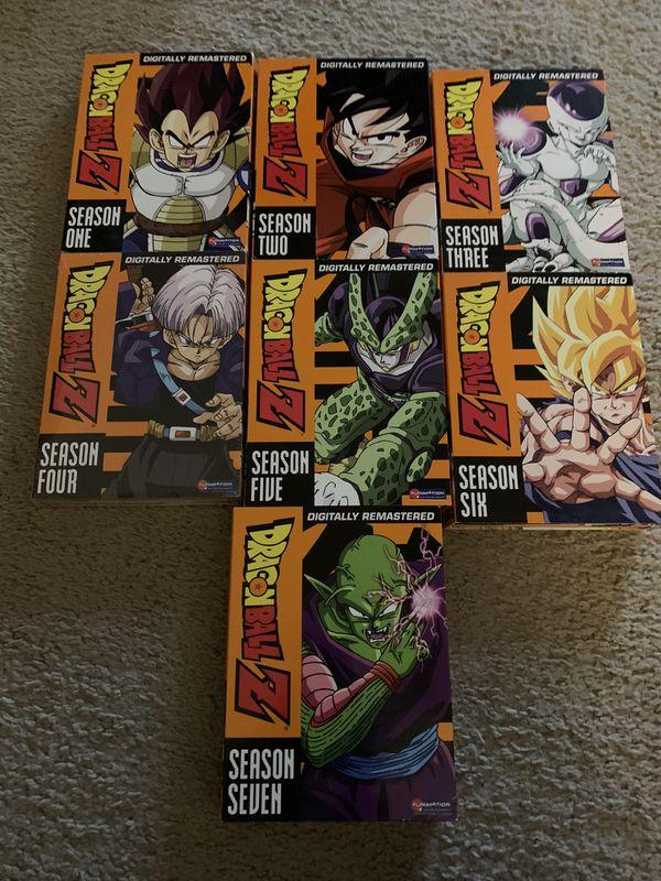 Dragon Ball Z - Seasons 1-7