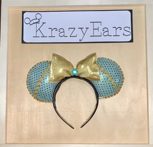 Princess Jasmine Inspired No Sew Ears for Sale in Corona, CA