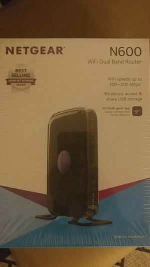 Netgear WNDR3400v3 - N600 WiFi Dual Band Router for Sale in Silver Spring, MD