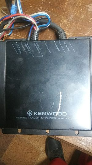 Kenwood KAC-501 amplifier 1000 watt for Sale in MIDDLEBRG HTS, OH