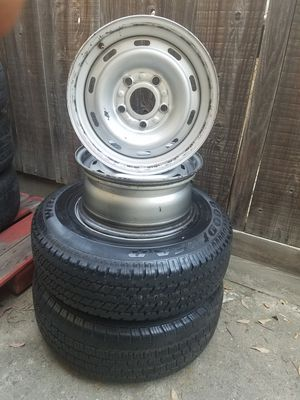 "1994-2001 Ram 1500 factory steel rims, 16"" for Sale in Fresno, CA"