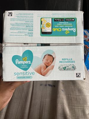 Pampers wipes for Sale in Irving, TX