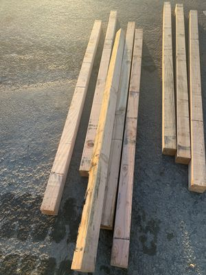 4x4x8 wood lumber sticks for Sale in Stockton, CA