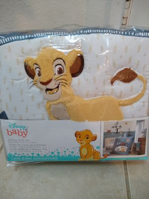 Disney Baby Lion King 3 Piece Crib Set for Sale in Phoenix, AZ