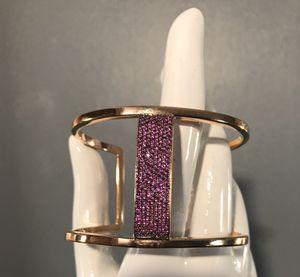 Henri Bendel Crystal cuff bracelet for Sale in Reynoldsburg, OH