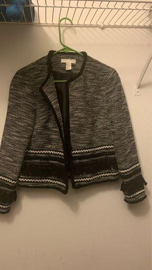 H&M Fringe Jacket/Blazer size 8 for Sale in Miami Gardens, FL