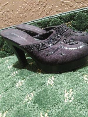 Blk 👠 👠 heels for Sale in Silsbee, TX