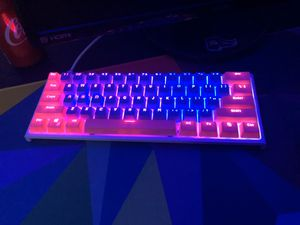 Custom ducky one 2 mini with cherry mx blue switches for Sale in Fountain, CO