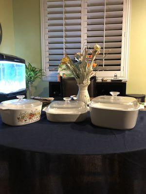6 Piece Corningware for sale for Sale in Riverside, CA