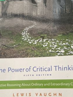 The Power Of Critical Thinking for Sale in Monroe,  MI
