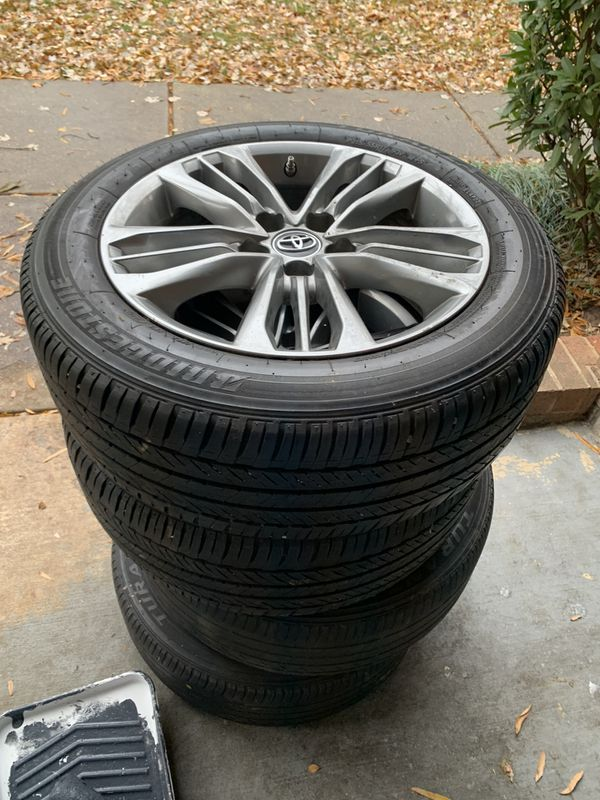 Rims and tires. Toyota Camry 2017