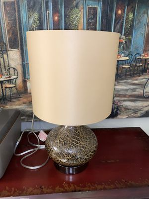 Brown and Gold Lamp for Sale in Broken Arrow, OK