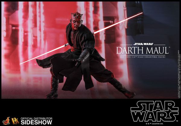 Hot Toys 1/6 Darth Maul DX (single Figure) NEW BOXED (not special ver)