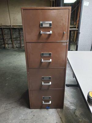 Diebold Fire Proof 4 Drawer File for Sale in Nashville, TN