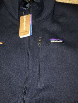 Patagonia Vest Size medium men's blue navy for Sale in Seattle,  WA