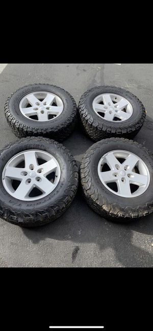 Jeep wheels for sale for Sale in Los Angeles, CA